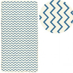nobodinoz st tropez mattress blue zigzags