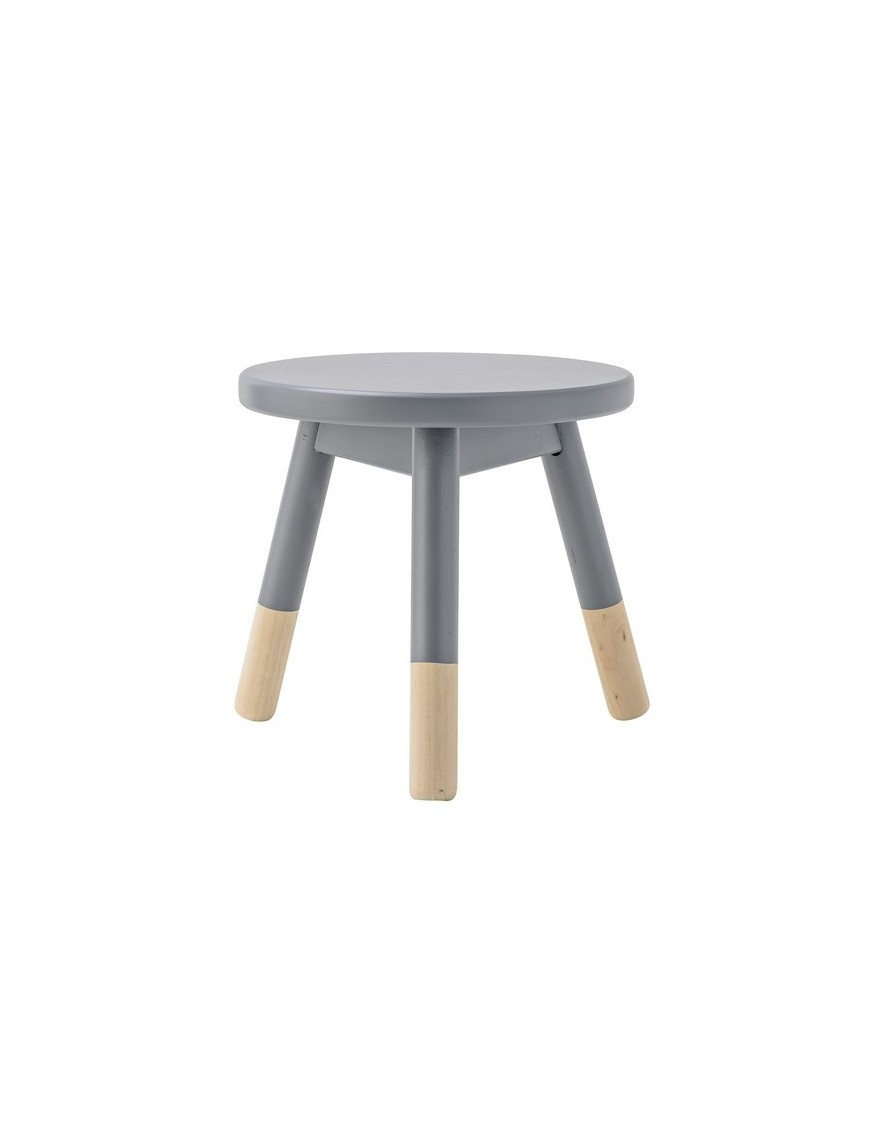Bloomingville Wooden Stool - Gris/Nature