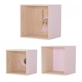 pack de 6 étagères cubes Bloomingville