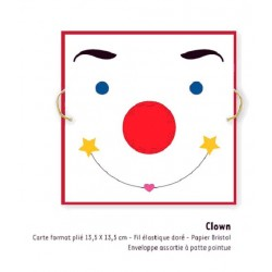 Carte Clown, Fifi Mandirac