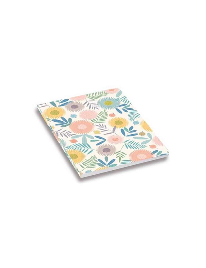 minilabo flower print notebook by atomic soda