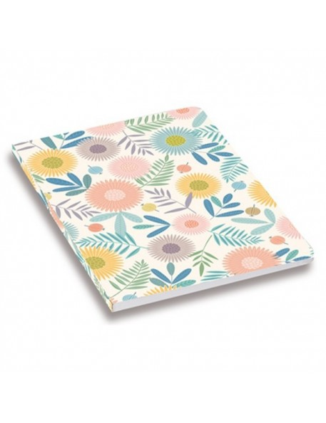 minilabo flower print notebook by atomic soda