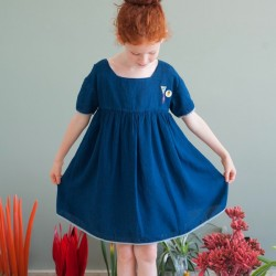 bobo choses robe princesse bleue