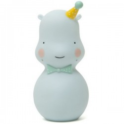 eef lillemor hippo night light soft celadon