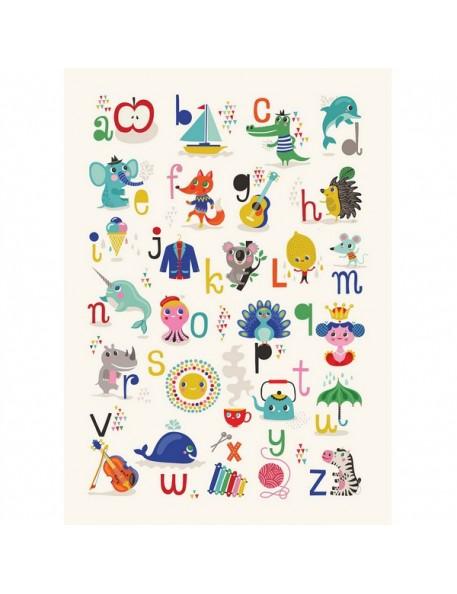 Affiche alphabet Helen Dardik (50x70cm)