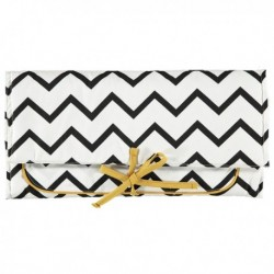 NOBODINOZ Zig Zag Changing Pad - Black Chevron