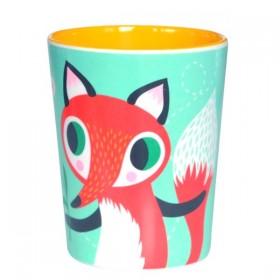 Helen Dardik Mint Fox Melamine Cup