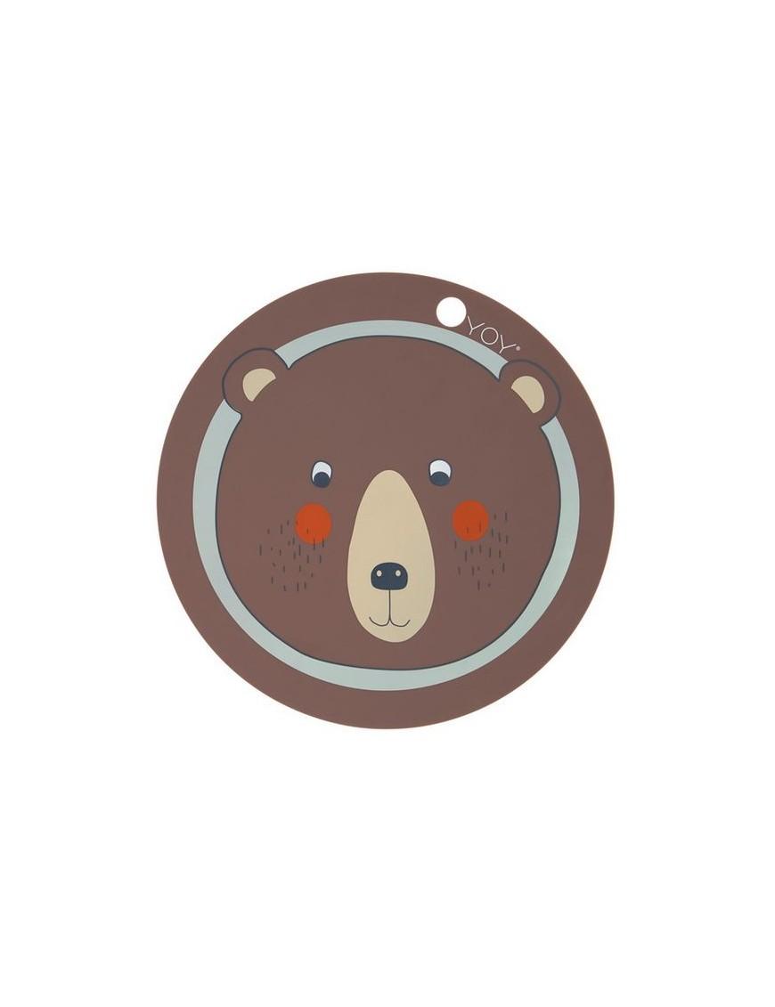 oyoy placemat bear