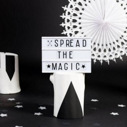 "Lampe ""Lightbox"" lettres (A4) A Little Lovely Company"