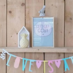 A little lovely company - poster lightbox sheet for boy (x 8)