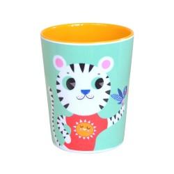 Helen Dardik Mint Lion Melamine cup
