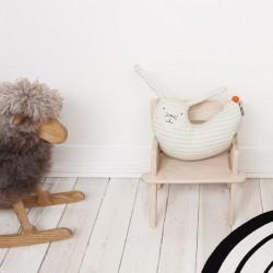 OYOY rabbit peter cushion