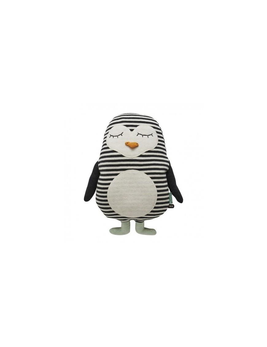 Oyoy coussin pingouin - déco chambre enfant