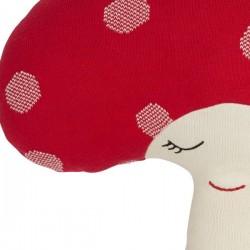 Coussin doudou champignon rouge OYOY