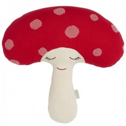 oyoy coussin champignon rouge