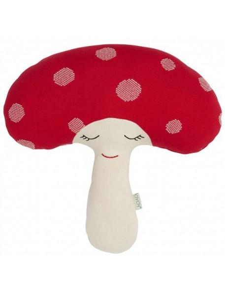 oyoy coussin champignon rouge