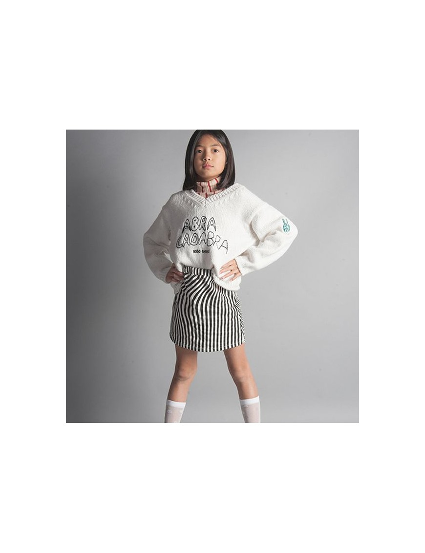 bobo choses hypnotized cream skirt
