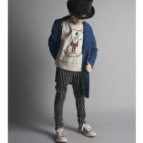 bobo choses hypnotized slim fit trousers
