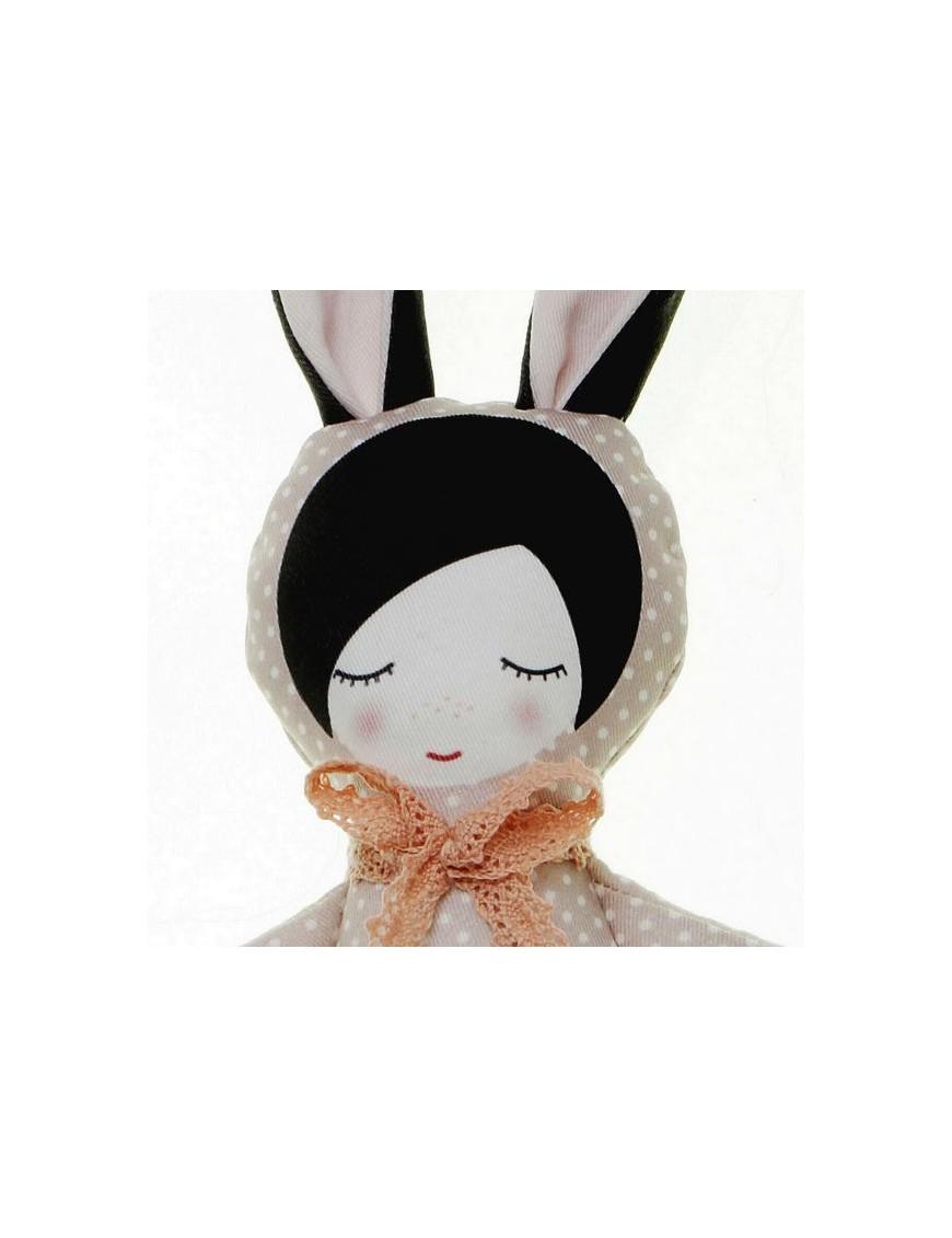 ballerina bunny doll - dots