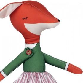 poupée chiffon renard fille