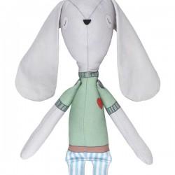 poupée chiffon bunny boy