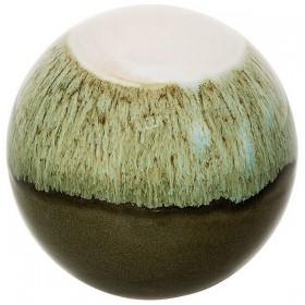 Bloomingville globe en porcelaine glacée (Ø9,5cm)