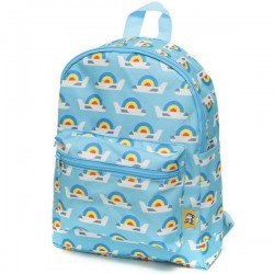 Lemonni backpack airplanes - blue