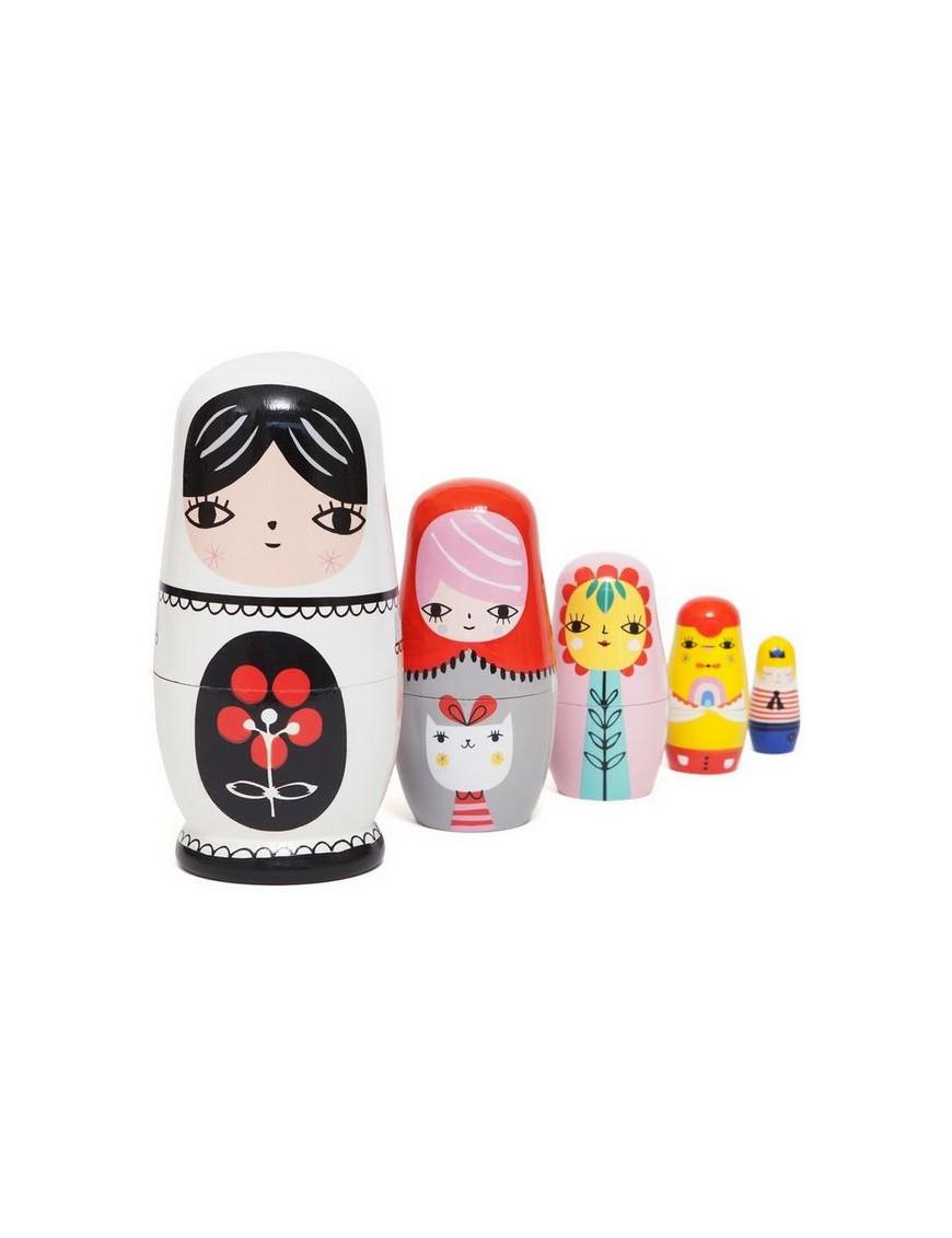 fleur friends nesting dolls | Petit Monkey