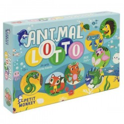 helen dardik animal lotto game | Petit Monkey