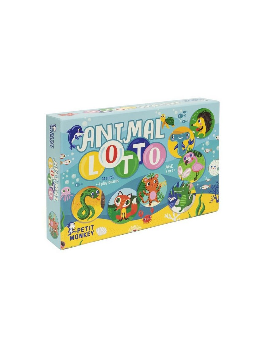 helen dardik animal lotto game | Petit Monkey