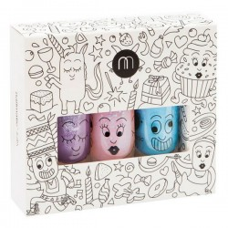 nailmatic kids coffret de 3 vernis party