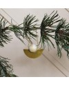 oyoy christmas ornament nature lucia- wood & brass