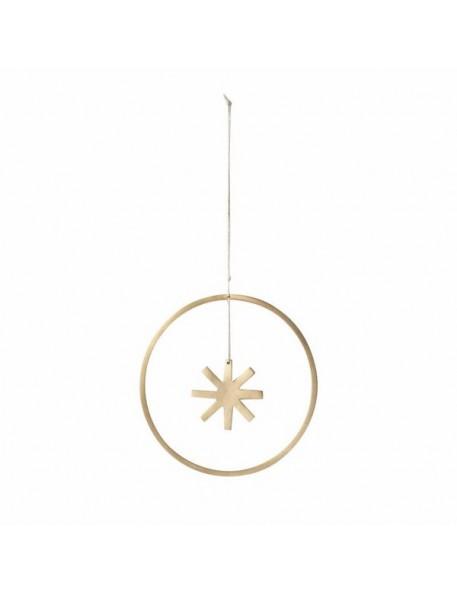 ferm living décoration de noël à suspendre étoile winterland