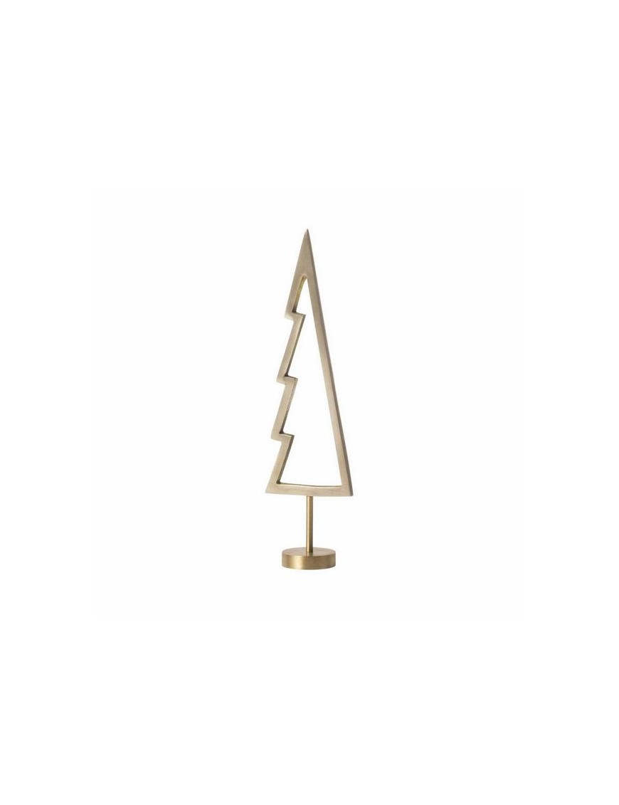 Ferm Living winterland brass tree - christmas ornament