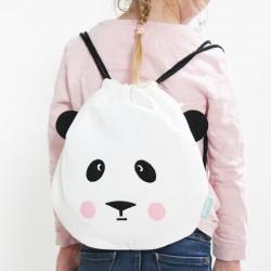 sac à dos coton panda eef lillemor