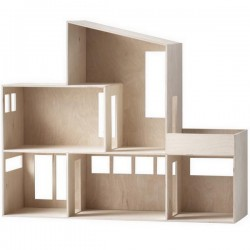 """[Ferm living] maison de poupée en bois"""" funkis house"""""""