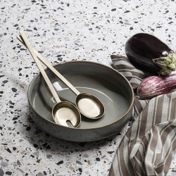 """Ferm Living - couverts salade laiton """"fein"""""""