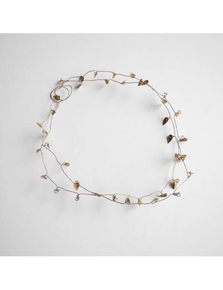 guirlande feuilles d'or (91cm) | FOG LINEN
