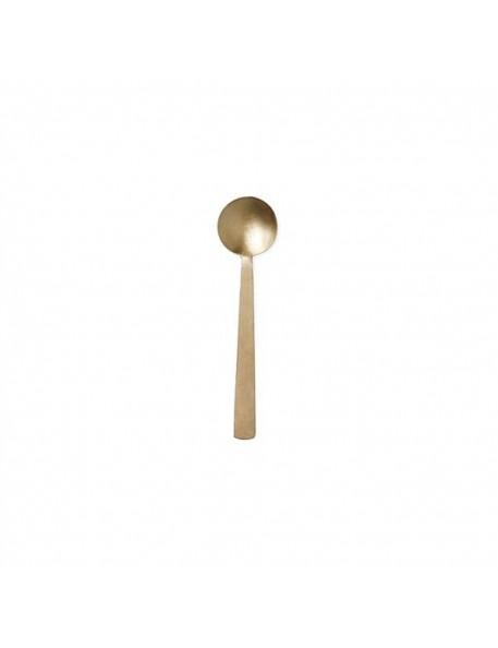 Petite cuillère en laiton (17x4cm) | FOG LINEN