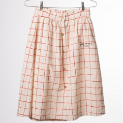 Bobo choses net midi skirt