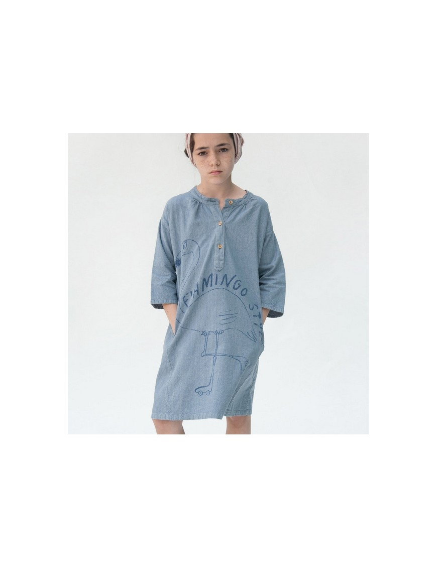 Bobo choses robe vintage flamingo