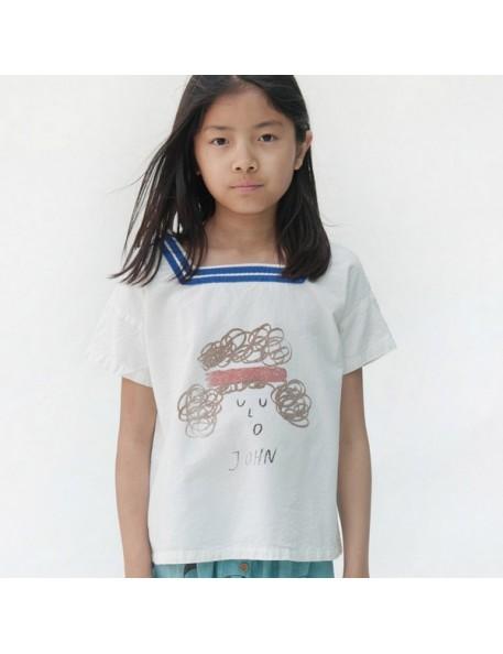 "6/7A Bobo choses t-shirt ""sailor john"""