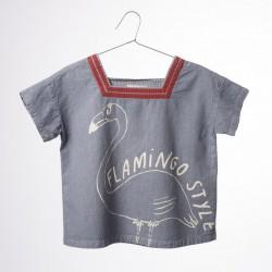 Bobo choses sailor shirt flamingo
