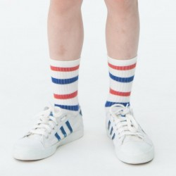 Bobo choses chausettes tennis à rayures