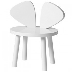 Mouse chair white Nofred