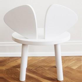 Chaise enfant Mouse - blanc