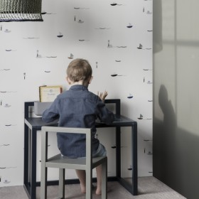 Ferm Living | kids desk : Little architect (dark green)