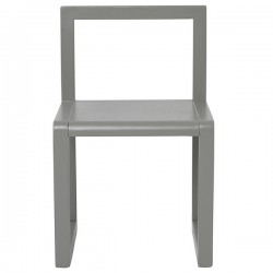 Ferm Living kids Little Architect chair - grey