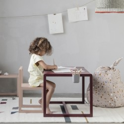 Ferm Living | kids desk : Little architect (bordeaux)