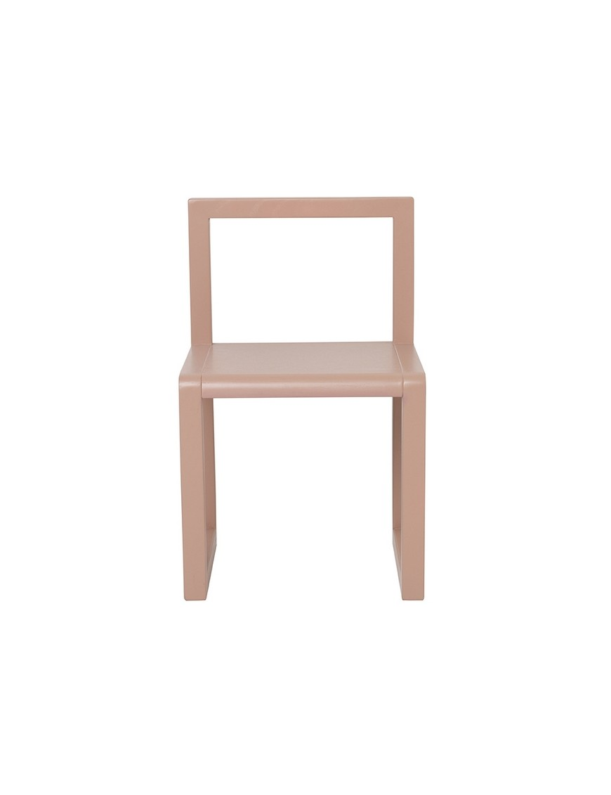 Ferm Living chaise enfant little architect rose